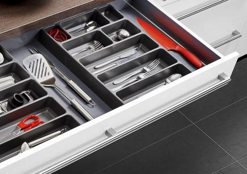Schubladensystem fur kuche for Kuchen schubladeneinsatze
